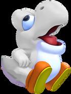 White Baby Yoshi 3D