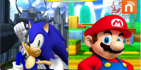 Mario and Sonic (Peach Lover 94's Version)