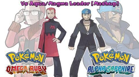 Aqua Magma Leader Battle