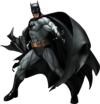 Batman statue render