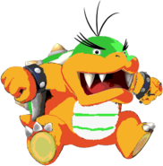 Morton Koopa Jr. (SMW sprite colors)- New Super Mario Bros. Wii