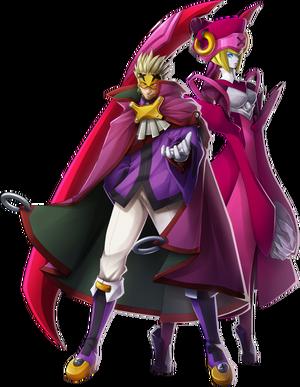 Relius Clover (Chronophantasma, Character Select Artwork)