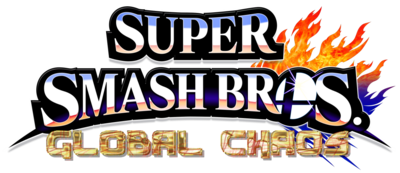 Super Smashn Bros Global Chaos Logo