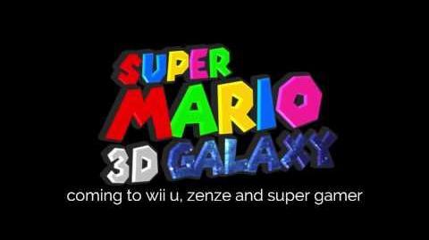Super Mario 3D Galaxy Mario?