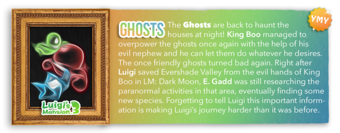 LM3 Character Info - Ghosts