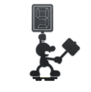 Amiibo MrGame&Watch Pose2