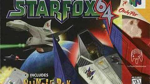 Destinations Map (Star Fox 64)