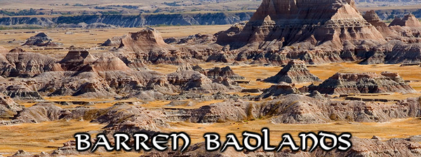 CeR Barren Badlands