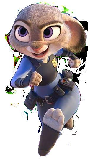 Ausmalbild Nick Und Judy Hopps Aus Zootopia: Disney's All-Star Brawlfest!!/Judy Hopps