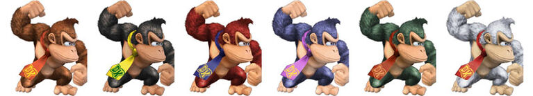 Donkey Kong Palette