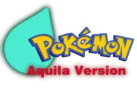 Pokemon Aquila Version Logo