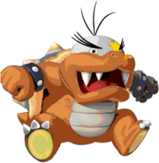 Morton Koopa Jr. (SMB3AS sprite colors)- New Super Mario Bros. Wii