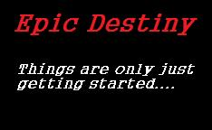 Epic Destiny Logo