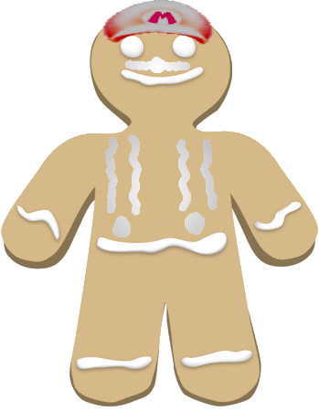 File:Gingerbreadman Mario.png