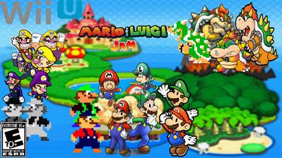 Mario & Luigi- Jam
