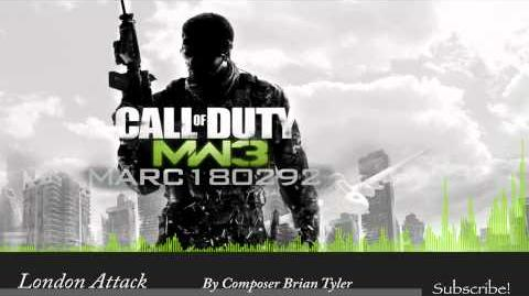 MW3 Soundtrack London Attack