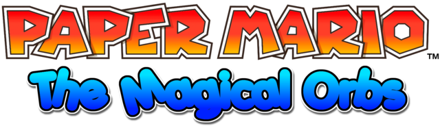 File:Paper Mario The Magical Orbs Title.png