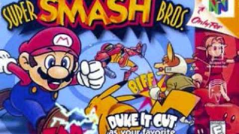 Super Smash Bros N64 Brinstar