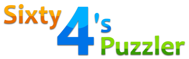 File:Sixty 4's Puzzler Logo.png