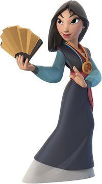 INFINITY Mulan render
