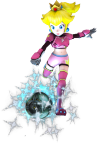 Princess peach test render mario strikers charge by luigimariogmod-d5s25jy