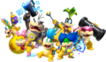 Transparent koopalings group NSMBU~SsM
