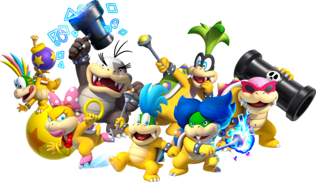 File:Transparent koopalings group NSMBU~SsM.png