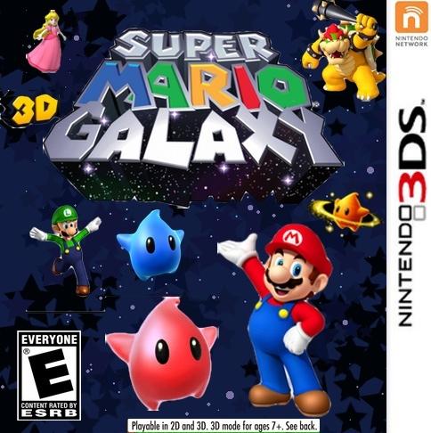 Super Mario 3D Galaxy - boxart