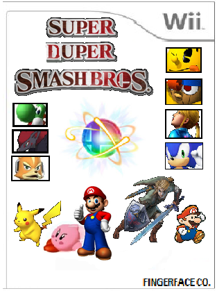 File:Super Duper Smash Bros. Cover Art.png