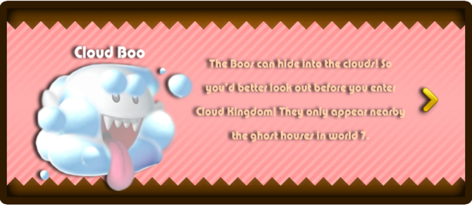 Super Mario & the Ludu Tree - Character Cloud Boo