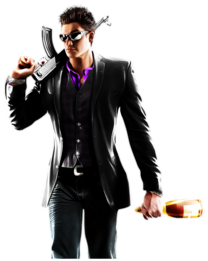 The Protagonist promo art Saints-Row-The-Third