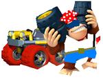 Funky Kong MK8U