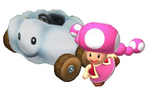 Toadette Kart Artwork 2
