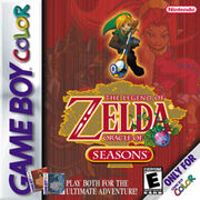 The Legend of Zelda Oracle of Seasons and Oracle of Ages Game Cover
