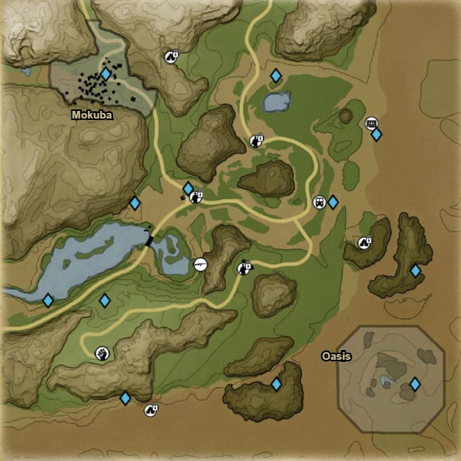 FC2 Detailed map SE