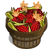 Organic Red Corn Bushel-icon