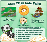Earn Zen Points in Jade Falls