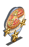 Vegetable Tart 3 Star Mastery Sign-icon