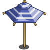 Blue Umbrella-icon