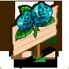 Aquamarine Rose Mastery Sign-icon
