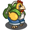 Hiking Chicken-icon