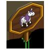 Purple Mane Pony Mastery Sign-icon
