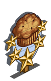 Spicy Muffin 5 Star Mastery Sign-icon