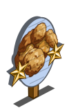 Oatmeal Cookies 2 Star Mastery Sign-icon