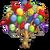 Birthday Balloon Tree-icon