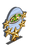 Fava Bean Salad 5 Star Mastery Sign-icon