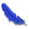 Blue Feather-icon
