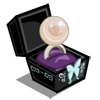 Jade Falls Platinum Pearl Unwither Ring-icon