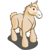 Cream Draft Horse-icon