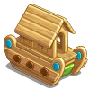 Wooden Toy Ship-icon